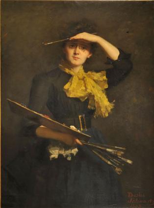 VROUWELIJKE KUNSTENAARS IN PARIJS 1850-1915